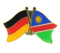 Fahnen Freundschaftspin Anstecker Namibia