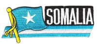 Fahnen Sidekick Aufnäher Somalia