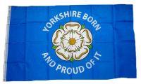 Fahne / Flagge England - Yorkshire Born & Proud 90 x 150 cm