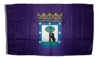 Fahne / Flagge Spanien - Madrid 90 x 150 cm