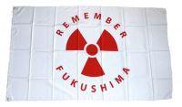 Fahne / Flagge Remember Fukushima 90 x 150 cm