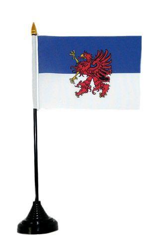 Tischfahne Pommern 11 x 16 cm Flagge Fahne