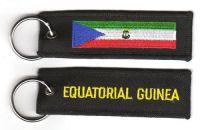 Fahnen Schlüsselanhänger Äquatorialguinea