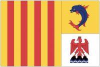 Fahnen Aufkleber Sticker Frankreich - Provence Alpes Cote d´Azur