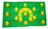 Fahne / Flagge England - Rutland new NEU 90 x 150 cm