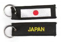 Fahnen Schlüsselanhänger Japan