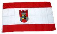 Flagge / Fahne Berlin Mitte Hissflagge 90 x 150 cm