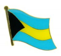 Flaggen Pin Fahne Bahamas NEU Pins Anstecknadel Flagge