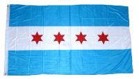 Fahne / Flagge USA - Chicago 90 x 150 cm