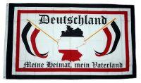 Fahne / Flagge Deutschland Meine Heimat Mein Vaterland 90 x 150 cm