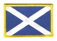 Fahnen Aufnäher Schottland