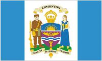 Flagge / Fahne Kanada - Edmonton Hissflagge 90 x 150 cm