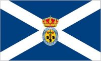 Fahne / Flagge Spanien - Santa Cruz de Tenerife 90 x 150 cm