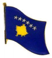 Flaggen Pin Kosovo NEU Fahne Flagge Anstecknadel