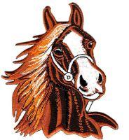 Aufnäher Patch Pferdekopf