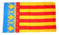 Fahne / Flagge Spanien - Valencia 90 x 150 cm