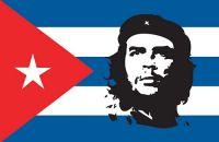 Fahnen Aufkleber Sticker Kuba - Che Guevara