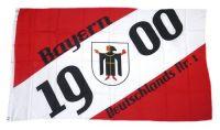 Fahne / Flagge Bayern 1900 Fan 90 x 150 cm