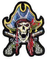 Aufnäher Patch Pirat Pistolen