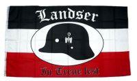Fahne / Flagge Landser Deutsches Reich 90 x 150 cm