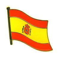 Flaggen Pin Fahne Spanien NEU Pins Anstecknadel