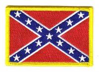 Fahnen Aufnäher Südstaaten