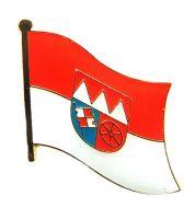 Flaggen Pin Unterfranken NEU Fahne Flagge Anstecknadel