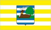 Fahne / Flagge Kroatien - Vukovar Srijem 90 x 150 cm