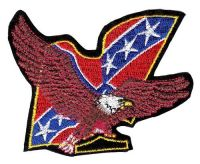 Aufnäher Patch Südstaaten Adler