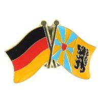 Fahnen Freundschaftspin Anstecker Belgien - Westflandern