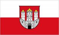 Fahne / Flagge Österreich - Salzburg Stadt 90 x 150 cm
