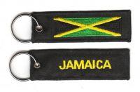 Fahnen Schlüsselanhänger Jamaika