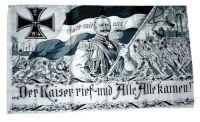 Fahne / Flagge Deutsches Reich Kaiser Wilhelm NEU 90 x 150 cm