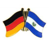 Fahnen Freundschaftspin Anstecker El Salvador