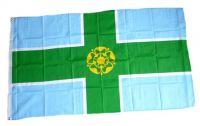 Fahne / Flagge England - Derbyshire 90 x 150 cm