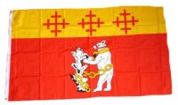 Fahne / Flagge England - Warwickshire 90 x 150 cm