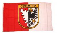 Flagge / Fahne Grömitz Hissflagge 90 x 150 cm