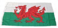 Flagge / Fahne Wales Hissflagge 90 x 150 cm