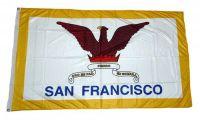 Fahne / Flagge USA - San Francisco 90 x 150 cm