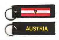 Fahnen Schlüsselanhänger Österreich Adler