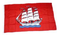 Flagge / Fahne Elmshorn Hissflagge 90 x 150 cm