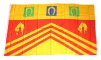 Fahne / Flagge England - Gloucestershire 90 x 150 cm