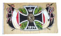 Fahne / Flagge Eisernes Kreuz 1914 150 x 250 cm