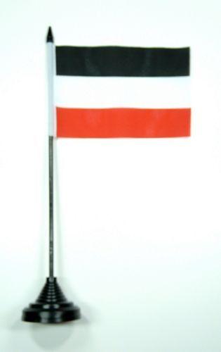 Fahne / Tischflagge Deutsches Reich 11 x 16 cm