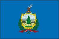 Fahnen Aufkleber Sticker USA - Vermont
