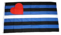 Fahne / Flagge Gay Leather Pride 90 x 150 cm