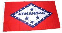 Fahne / Flagge USA - Arkansas 90 x 150 cm