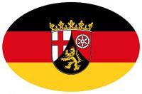 Wappen Aufkleber Sticker Rheinland Pfalz