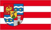 Fahne / Flagge Kroatien - Varazdin 90 x 150 cm