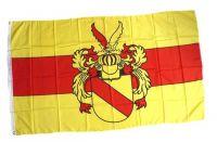 Fahne / Flagge Baden Markgraf Rudolf I 90 x 150 cm